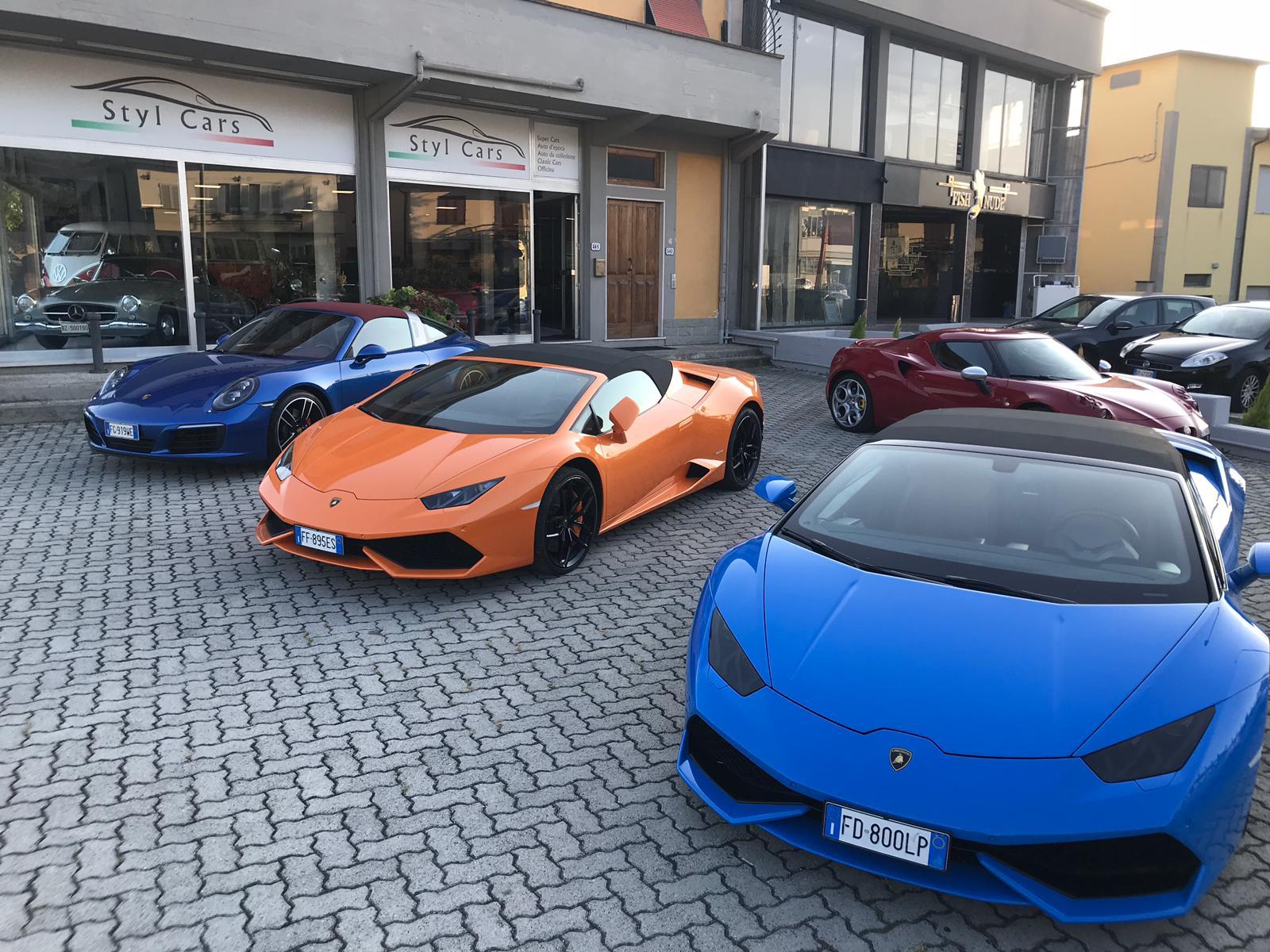 Luxury Car Rentals Stylcars auto classiche epoca e super sportive