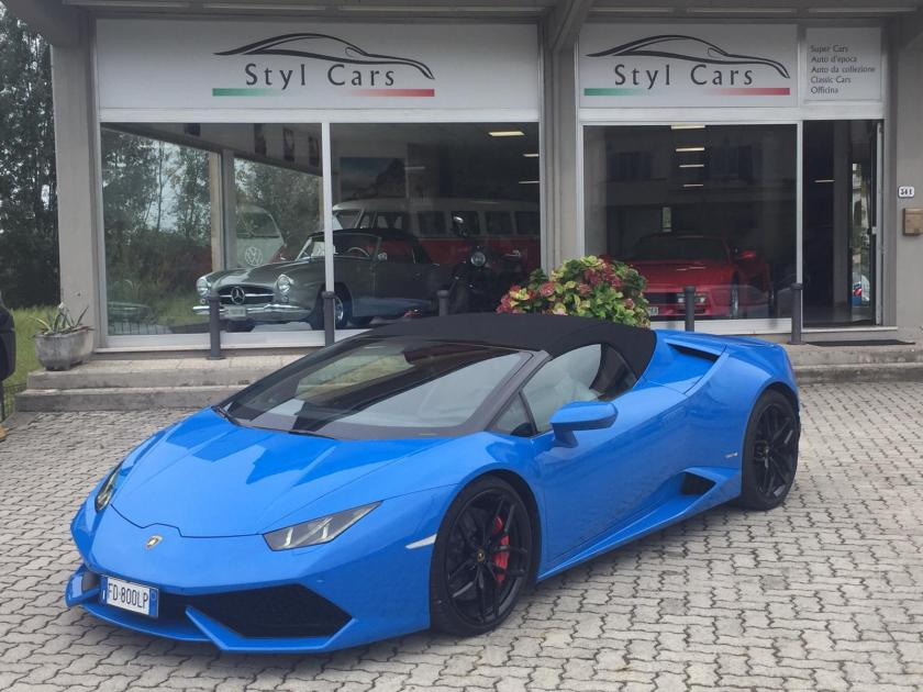 luxury car reantals europe huracan spider