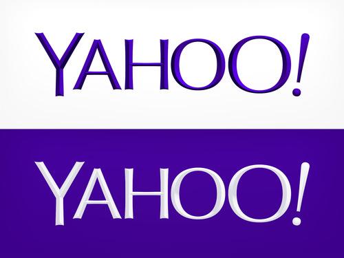 米 Yahoo!のロゴが変わった!