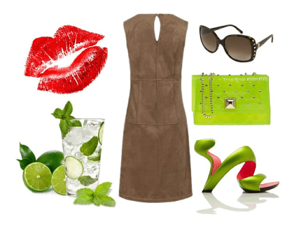 Fresh Summer Look with Mojitos