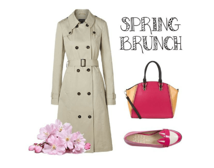 Classic Trench for Spring Look