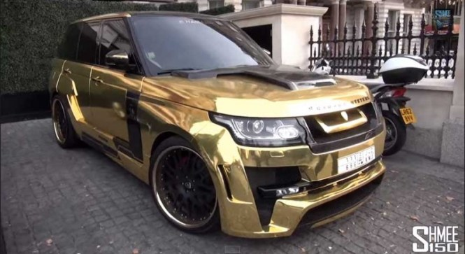 This Gold Plated Lamborghini Model Car Will Set You Back 7 5 Million Huffpost