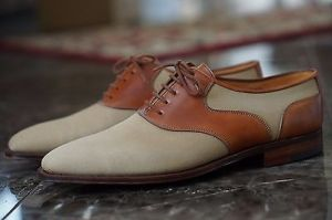 chaussures saddle oxford