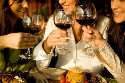 dégustation de vins femmes