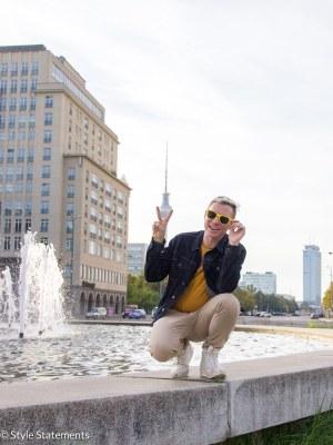 Street Style Berlin Adam Groffman Fernsehturm