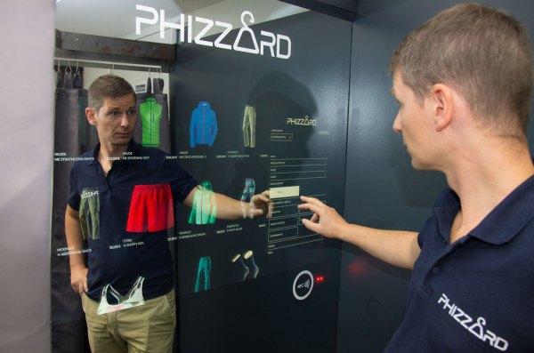 Umkleidekabine der Zukunft Phizzard