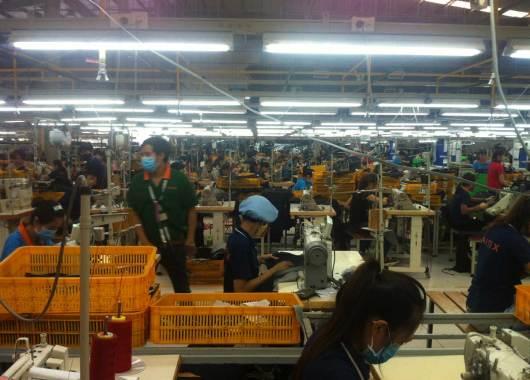 Textilfabrik in Vietnam