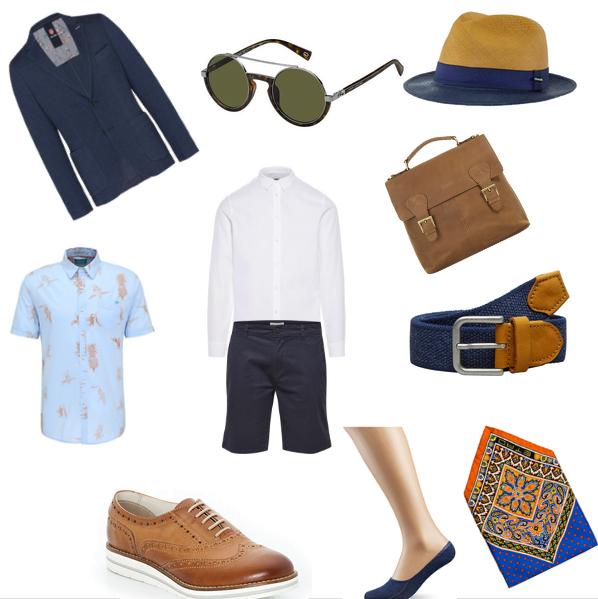Sommeroutfit für Männer