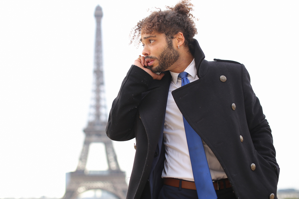 Männers Stil Paris