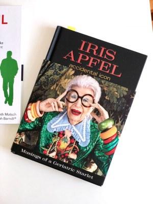 Urlaubslektüre Iris Apfel