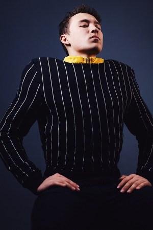 Wie Männer Streifen tragen
