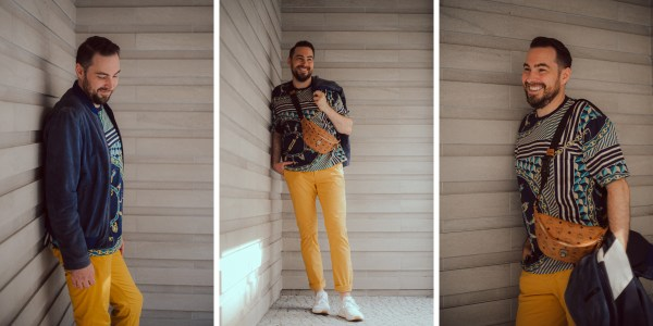 Wie Männer Muster tragen