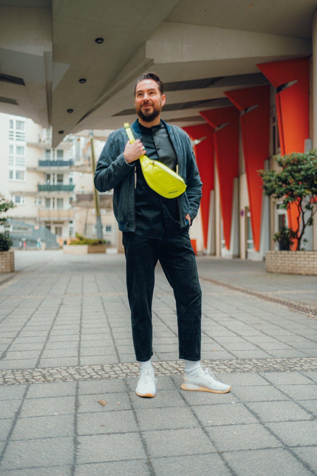 Wie Männer Neon tragen