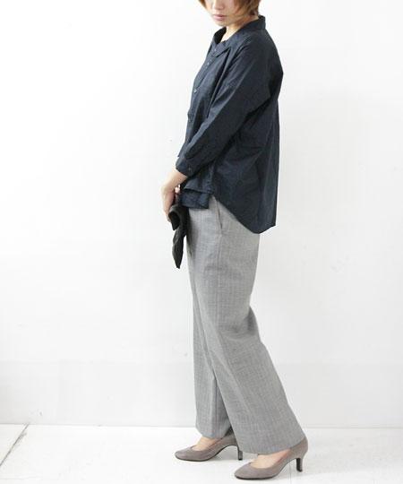Ordinary Fits / オーディナリーフィッツ BARBAR SHIRT black&check