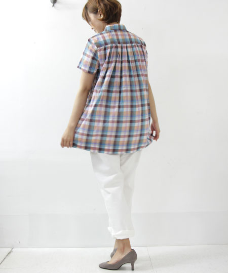 Ordinary Fits / オーディナリーフィッツ PIN TUCK SHIRT