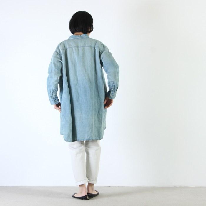 Ordinary Fits (オーディナリーフィッツ) 5POCKET ANKLE DENIM white one wash