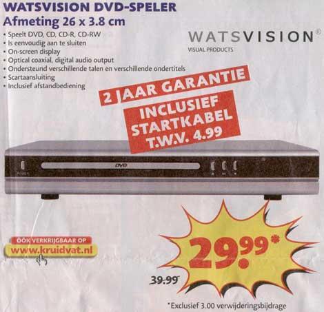 Kruidvat DVD speler