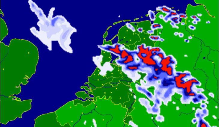 Buienradar rain image
