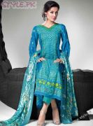 Embroidered Chiffon and Fleur De Chiffon Suits by Gul Ahmed (10)
