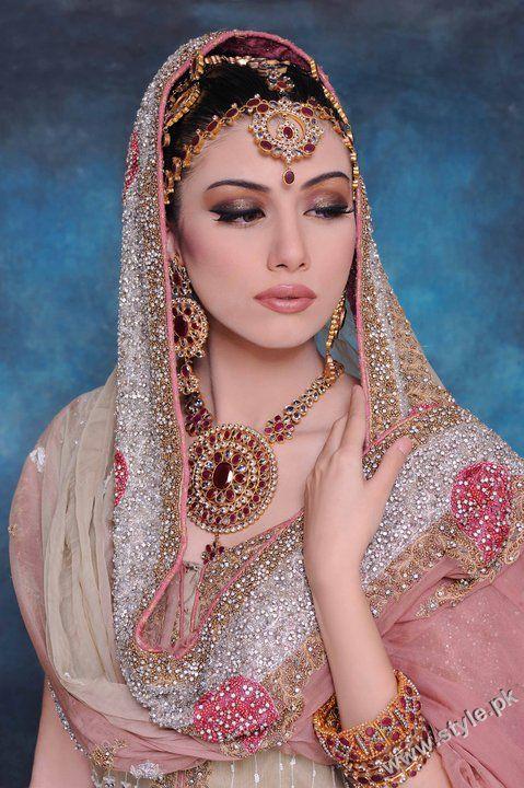 Khawar Riaz Bridal Makeup 2011 Pictures