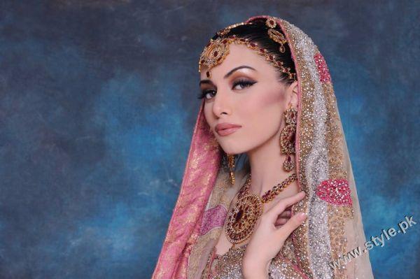 Latest Bridal Makeup 2011 by Khawar Riaz
