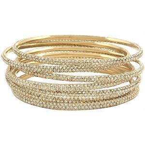 Diamonties style bangles