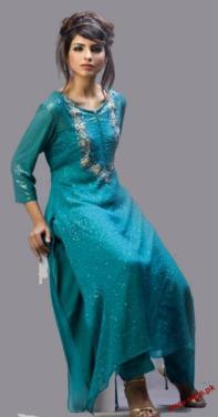 Latest-Party-And-Casual-Wears-Dresses-Collection-2011-13 style.pk