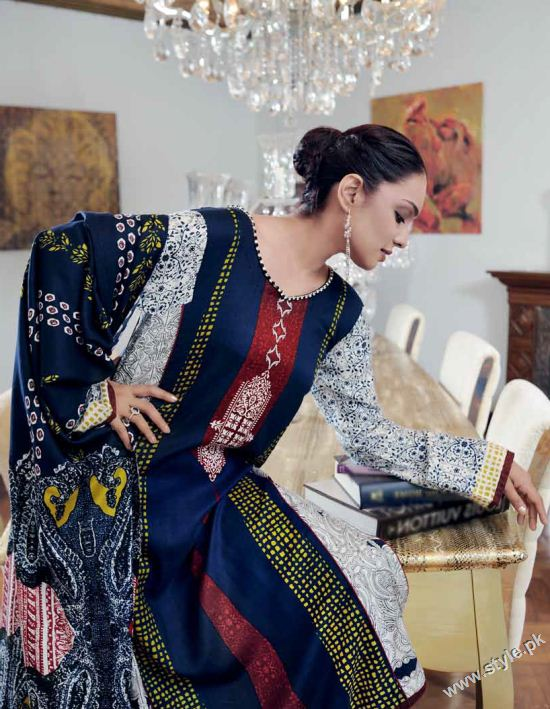 Amna Haq Photo Shoot For Gul Ahmed Winter Collection 2011-12 (8)