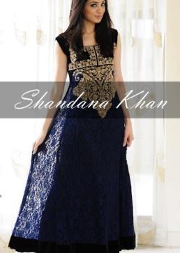 party wear dresses by shandana khan (2)