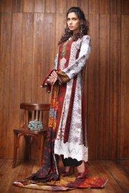 Firdous Linen Collection for Winter 2012 by Firdous Fashion a