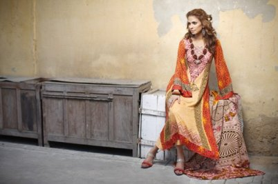 Firdous Linen Collection for Winter 2012 by Firdous Fashion m