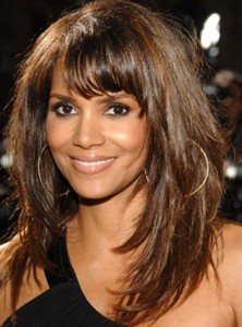 Celebrities Hairstyle,Bangs On Straight Hair_02