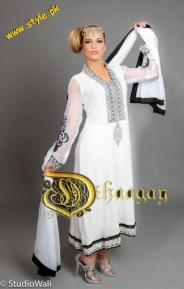Dhaagay Haute Couture Collection For Summer By Madiha Malik 2012-002