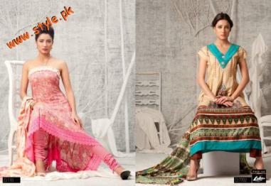 Latest Libas & Riwaj Summer Collection By Shariq Textiles 2012-007