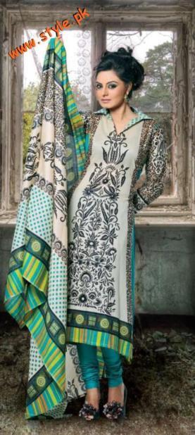 Latest Rashid Lawn Dresses For Summer By Rashid Textiles 2012-005