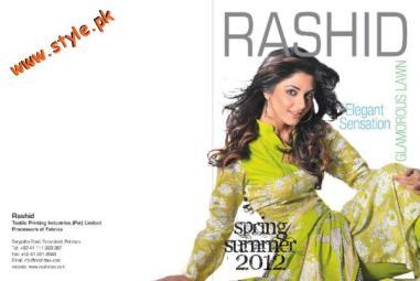Latest Rashid Textiles Lawn Dresses For Summer 2012-008