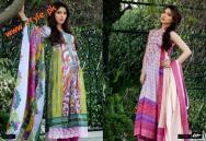Latestt Libas & Riwaj Lawn Summer Casual Wear Collection By Shariq Textiles 2012-018