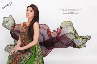 Stylish Lawn Dresses 2012 for Women of Pakistan 8