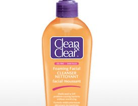 Clean & Clear Foaming Facial Cleanser _001