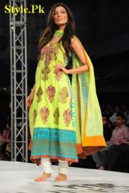 Lakhani Silk Mills at PFDC Sunsilk Fashion Week 2012, Day 3-001