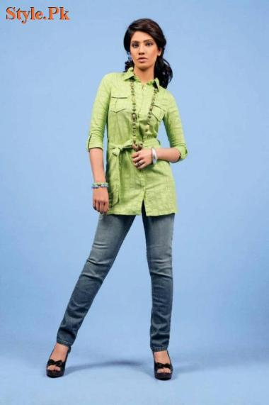 Yellow Latest Summer Arrivals For Women 2012-004