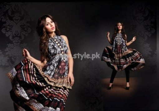 House Of Ittehad Latest Lawn Collection For Women 2012 001
