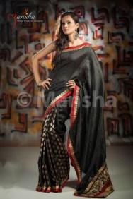 Eid-ul-Fitre 2012 Designer Saree Collection by Mansha002