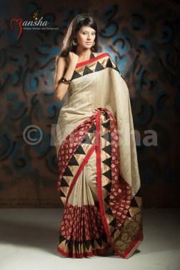 Eid-ul-Fitre 2012 Designer Saree Collection by Mansha005
