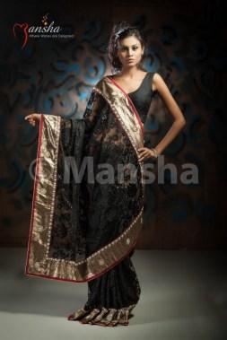 Eid-ul-Fitre 2012 Designer Saree Collection by Mansha007