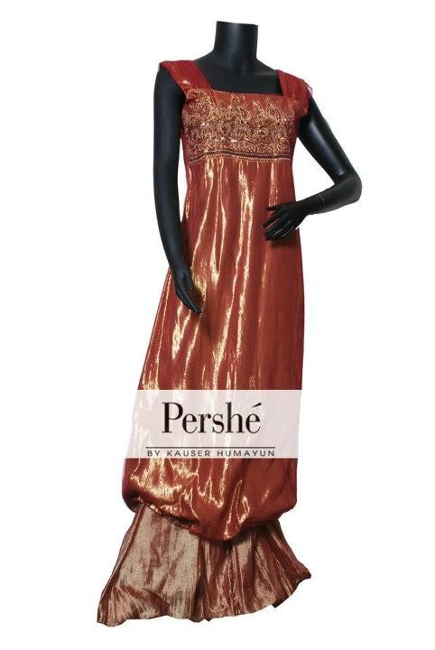 Pershe by Kausar Humayun 2012 Collection New Arrivals