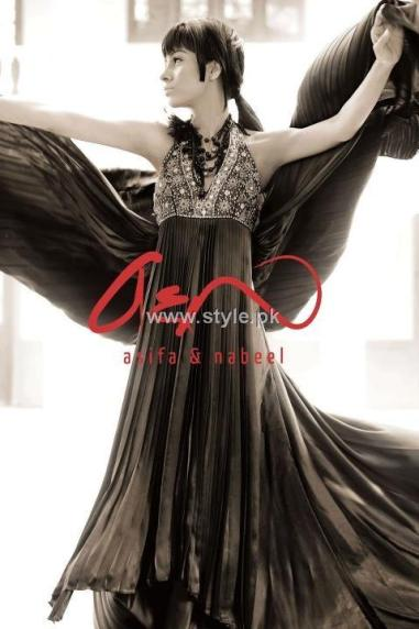 Asifa & Nabeel Formal Wear Collection 2012 New Outfits 006