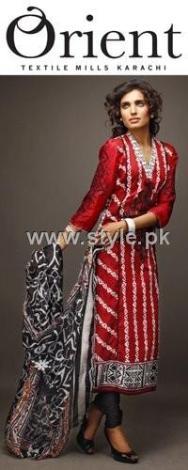 Orient Textiles 2012 Eid Lawn Prints Collection 002