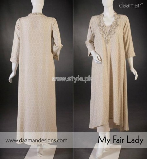 Daaman Exclusive Eid 2012 Latest Collection For Women 001