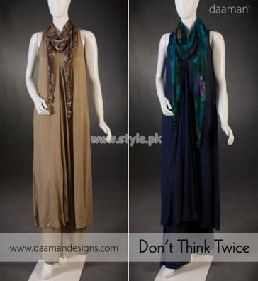 Daaman Latest Eid-Ul-Fitr 2012 Dresses For Girls 007